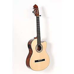 Lucero LC100CE Acoustic-Electric Cutaway Classical Guitar (USED005042 LC100CE)