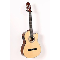 Lucero LC100CE Acoustic-Electric Cutaway Classical Guitar (USED005041 LC100CE)