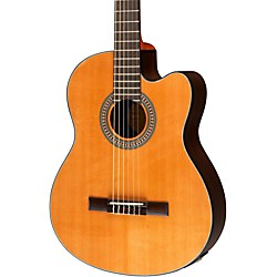 Lucero LC200SCE Rosewood/Cedar Acoustic-Electric Cutaway Classical Guitar (USED004000 LC200SCE)