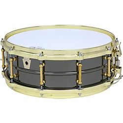 Ludwig Black Beauty Brass on Brass Snare Drum (LB416BT)