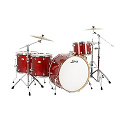 Ludwig Centennial Zep 4-Piece Shell Pack (LRC26ZXRSMF-KIT)