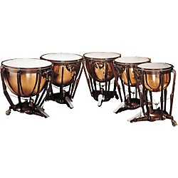 Ludwig LKP505PG PROF POLISHED COPPER TIMPANI SET OF 5 (KIT876752)