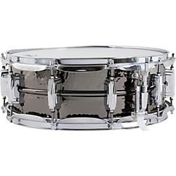 Ludwig Supraphonic Black Beauty Hammered Snare Drum (LB416K)