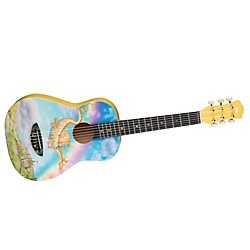 Luna Guitars 1/2 Size Nylon String Guitar (Ar Nyl Dragon)