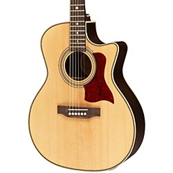 Luna Guitars Americana Classic AMF 100 Folk Cutaway Acoustic-Electric Guitar (AMF 100)