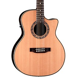Luna Guitars Americana Inspired AMM 100 Mimbres Acoustic-Electric Guitar (AMM 100)