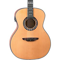 Luna Guitars Artist Series Craftsman All Solid Wood Grand Auditorium Acoustic-Electric Guitar (Art Craftsman)