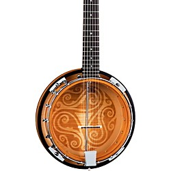 Luna Guitars Celtic 6-String Banjo (BGB CEL 6)
