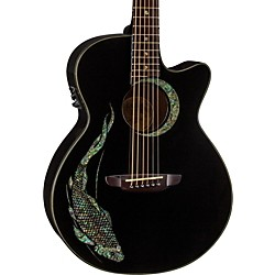 Luna Guitars Fauna Folk Acoustic-Electric Guitar (FAU KOI)