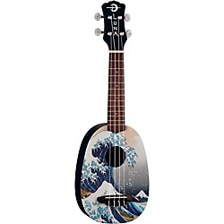 Luna Guitars Great Wave Soprano Ukulele (UKE GWS)