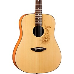Luna Guitars Gypsy Henna Dreadnought Acoustic Guitar (GYP HEN)