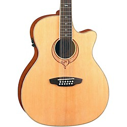 Luna Guitars Heartsong 12-String Acoustic-Electric Guitar With USB (Song 12)