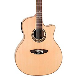Luna Guitars Muse 12-String Acoustic-Electric Guitar (MUS GAC 12)