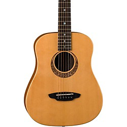 Luna Guitars Muse Safari Series Spruce 3/4 Dreadnought Travel Acoustic Guitar (SAF MUS SPR)