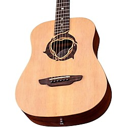 Luna Guitars Safari Dolphin 3/4 Size Travel Acoustic Guitar (SAF DPN)