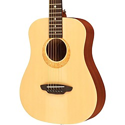 Luna Guitars Safari Muse Spruce 3/4 Size Travel Acoustic Guitar Package (SAF PK)