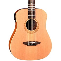 Luna Guitars Safari Muse Spruce Travel Acoustic-Electric Guitar (SAF EL MUS)