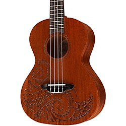 Luna Guitars Tattoo Tenor Ukulele (UKE TTN MAH)