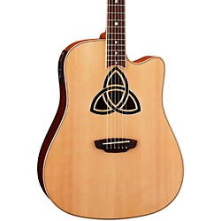 Luna Guitars Trinity Dreadnought Acoustic-Electric Guitar (TRI D)