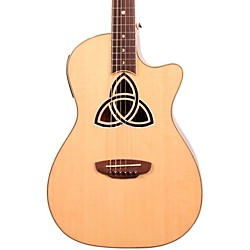 Luna Guitars Trinity Series Cutaway Parlor Acoustic-Electric Guitar (TRI PAR)