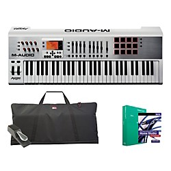 M-AUDIO Axiom Air 61 Keyboard Controller Package 1 (MAUDIOAXAIR61CP1A)