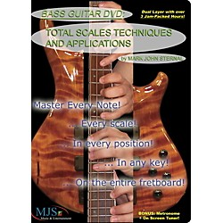 MJS Music Publications Bass Guitar DVD: Total Scales Techniques and Applications (BTSTA DVD)