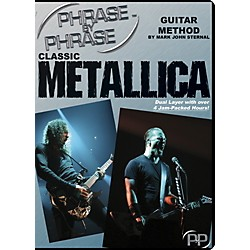 MJS Music Publications Classic Metallica: Phrase by Phrase Guitar Method DVD (PXP MET)
