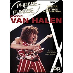 MJS Music Publications Classic Van Halen Phrase by Phrase Guitar Method (DVD) (PXP VH)