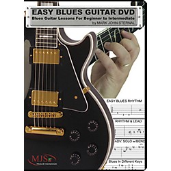 MJS Music Publications Easy Blues Guitar DVD: Blues Guitar Lessons For Beginner through Intermediate (EZG Blues)