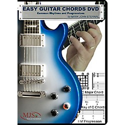 MJS Music Publications Easy Guitar Chords DVD Common Rhythms and Progressions (EZGChords)