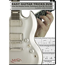 MJS Music Publications Easy Guitar Tricks DVD: Lead and Rhythm Guitar Techniques Used by the Pros! (EZG Tricks)