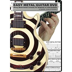 MJS Music Publications Easy Metal Guitar (DVD) (EZG Metal)