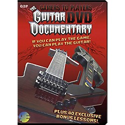 MJS Music Publications Gamers To Players Guitar Documentary DVD plus 40 bonus lessons (G2P)