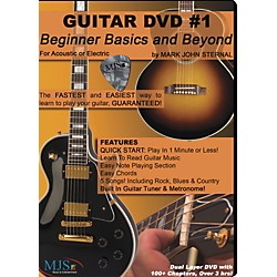 MJS Music Publications Guitar DVD #1 Beginner Basics and Beyond (GDVD1)