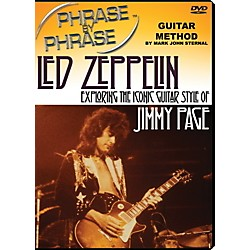 MJS Music Publications Phrase By Phrase Guitar Method - Led Zeppelin: Exploring The Iconic Guitar Style Of Jimmy Page (PXP LZ)
