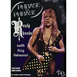 MJS Music Publications Phrase By Phrase Guitar Method - Randy Rhoads (with Ozzy Osbourne) (PXP RR)