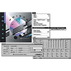 MOTU Unisyn Universal MIDI Device Editor/Librarian 1.5 for Mac (4050)