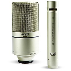 MXL 990/991 Recording Microphone Package (MXL 990/991 USED)