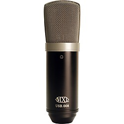 MXL USB.008 Large Gold Diaphragm USB Condenser Microphone (USED004000 MXL-USB.008)