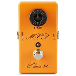 MXR Custom Shop CSP-101CL Script Logo Phase 90 with LED Guitar Effects Pedal (CSP101SL)