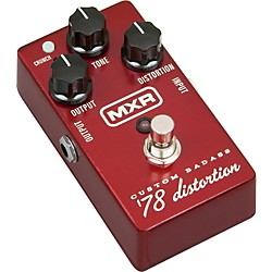 MXR M78 Custom Badass '78 Distortion Guitar Effects Pedal (M78)