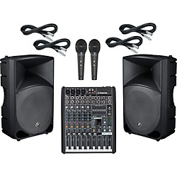 Mackie ProFX8 / TH-15A PA Package (ProFX8TH15A)