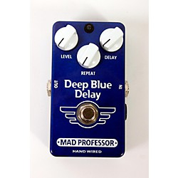 Mad Professor Hand Wired Deep Blue Delay Guitar Effects Pedal (USED005001 DBDHW)