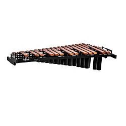Majestic Gateway Series 2.5 Octave Synthetic Bar Marching/Tabletop Piccolo Xylophone w/ Resonators (X2525PR)