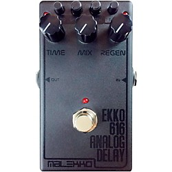 Malekko Heavy Industry Ekko 616 MKII Dark Analog Delay Guitar Effects Pedal (EKKO616MKIIDARK)