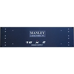 Manley Faceplate for Rackmount Power Supply (RackMtFacePlt)