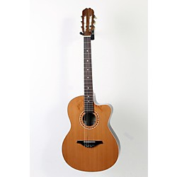 Manuel Rodriguez Caballero 10 Cutaway Nylon String Acoustic-Electric Guitar (USED005039 9 1104 CAB10CT)