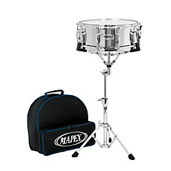 Mapex Lite Backpack Snare Drum Kit with Rolling Bag (MK14DC)