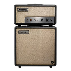 Marshall Custom Shop 1W Offset Tube Guitar Stack Black w/Tan Grille Regular (CS 1W GTR STK)