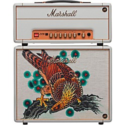 Marshall Custom Tattoo Tutti Serra Stack JVM-1H 1W Tube Guitar Head and 1x10 Cab (Tutti Stack)